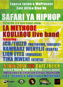 Safari ya Hip-Hop session 3.0