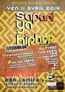 Safari ya Hip-Hop session 2