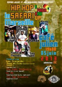 Hiphop Safari - 5 juin Café Julien