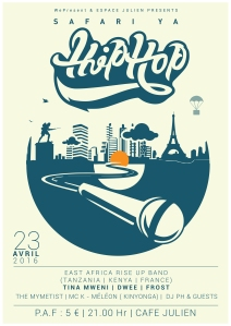 Affiche Safari ya HipHop